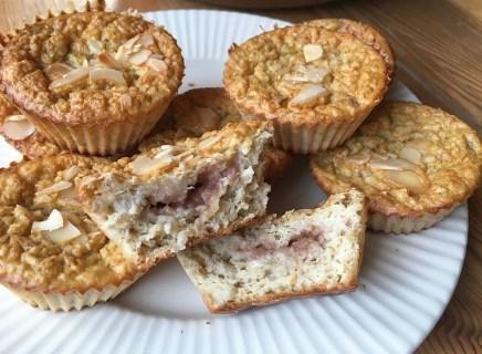 muffins banane crème de marrons