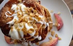 pancakes épais chou fleur thefitnesstheory