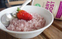 riz au lait berry boost natural mojo thefitnesstheory