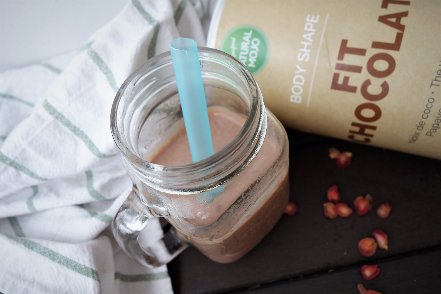 fit chocolate natural mojo recette petit dej