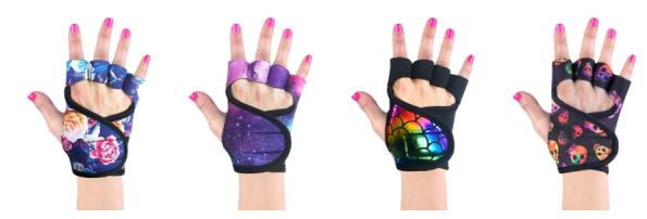 gants gloves muscu fitness femmes uniques