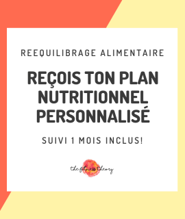 Plan alimentaire personnalisé thefitnesstheory coaching