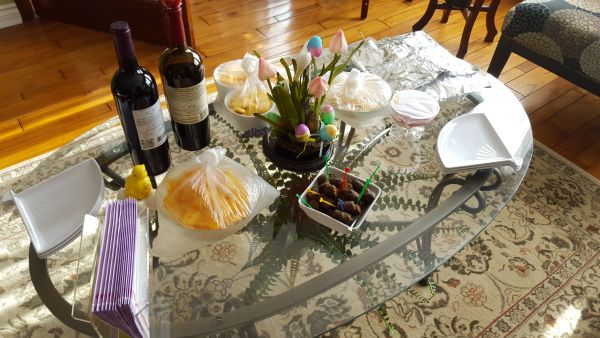 heather's easter party 2016