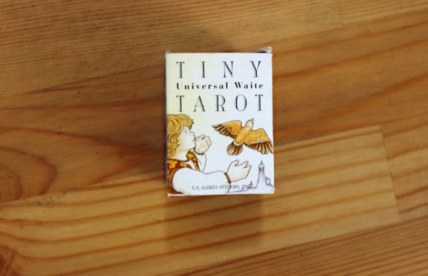 tiny tarot deck