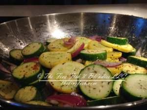 oil & vinegar, meditteranean rub, spices, herbs