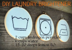 DIY Laundry Brightener