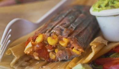 blue orn tamales, vegetarian tamales, vegan tamales