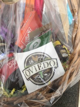 neighborhood circle, gift basket, neighborhood greetings, oviedo florida