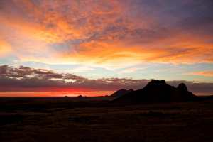 Stunning Spitzkoppe Sunset