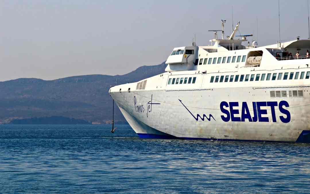 SeaJets Ferries: Island Hopping in Greece!
