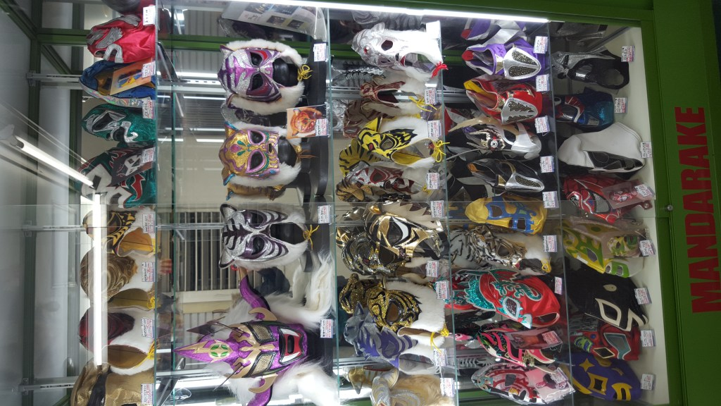 Taking up Mexican wrestling? You'll need a mask