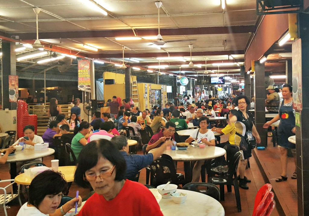 The hawker centre where Peter's culinary life was changed forever