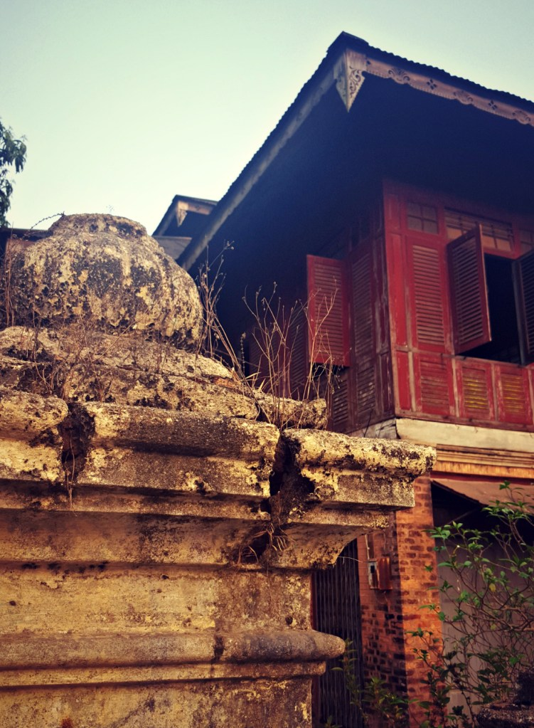Dawei is filled with crumbling relics of its colonial past, from shuttered buildings to mossy stone walls