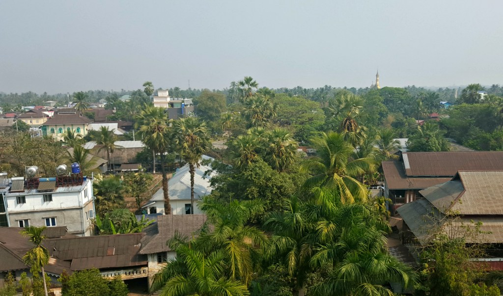 Dawei, from six floors up