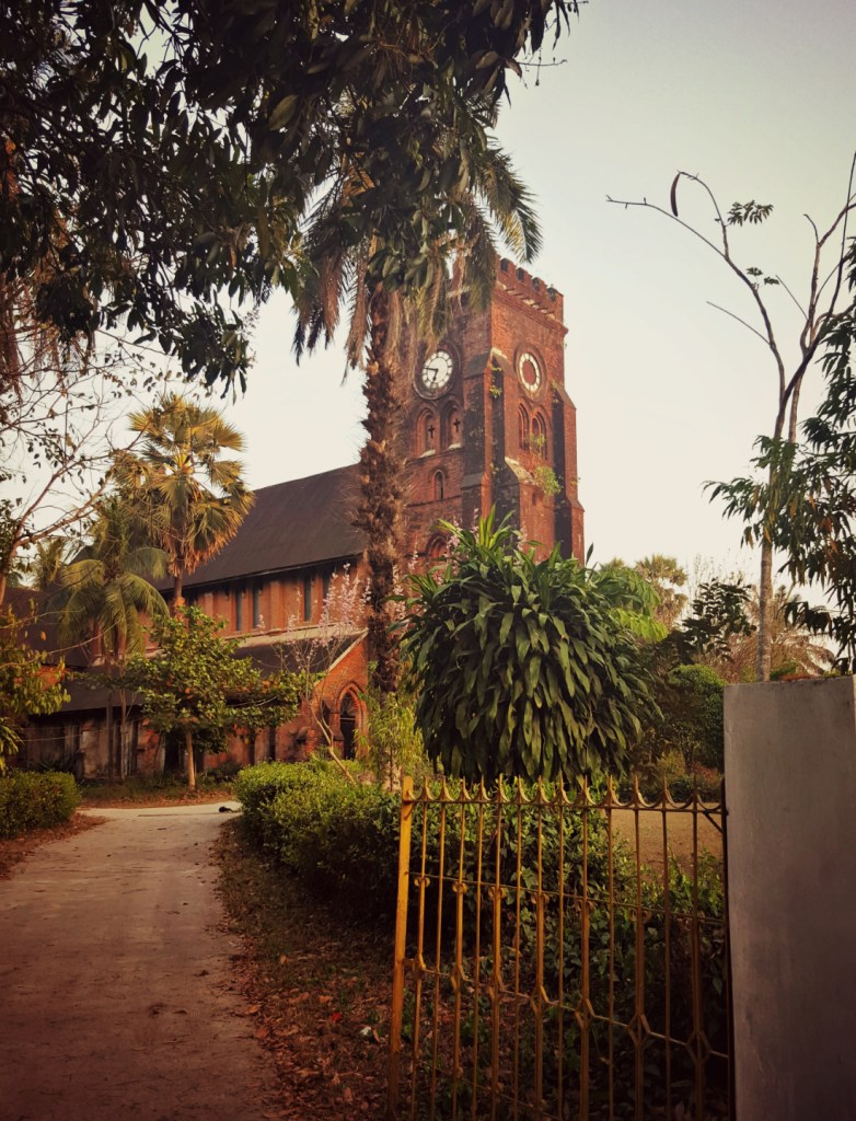 Mawlamyine's incongruously British church