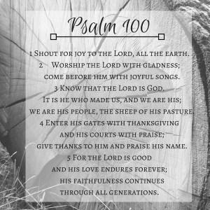 Psalm 100-2