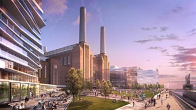 Battersea Power Station & Nine Elms on the South Bank