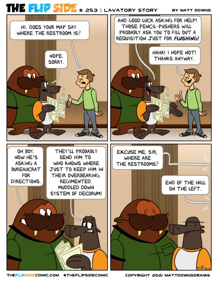 #253: Lavatory Story