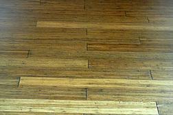 discolored floor boords