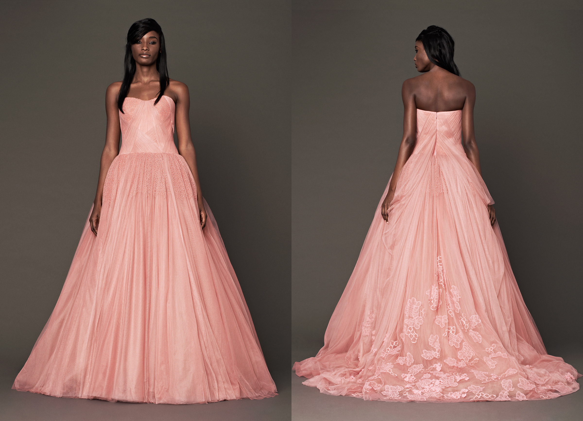 Hermosa Vera Wang Vestidos De Damas De Honor Bandera - Ideas de ...