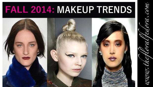 Fall Makeup Trends 2014