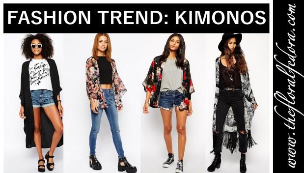 Fashion Trend: Kimonos