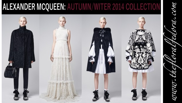 Alexander McQueen: Autumn/Winter 2014 Collection