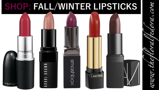 Fall Winter Lipsticks