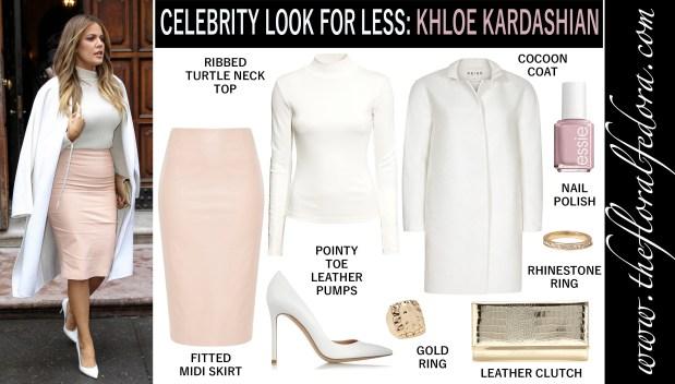 Celebrity Look for Less: Khloe Kardashian