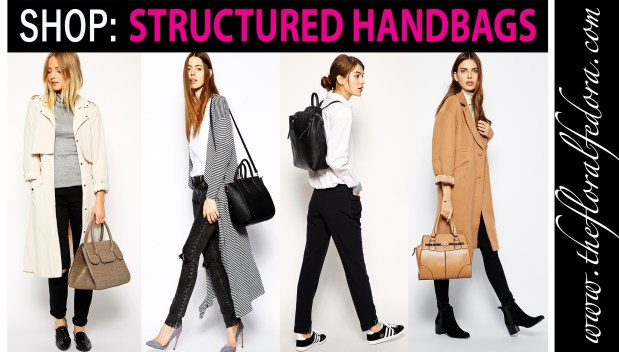 Shop: Structured Handbags