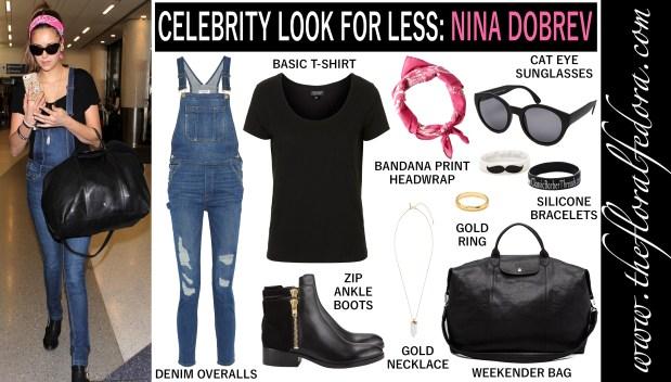 Celebrity Look for Less: Nina Dobrev