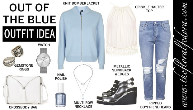 Outfit Idea: Out of the Blue