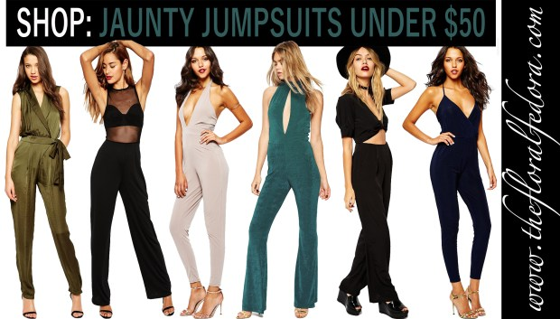 Shop: Jaunty Jumpsuits Under $50