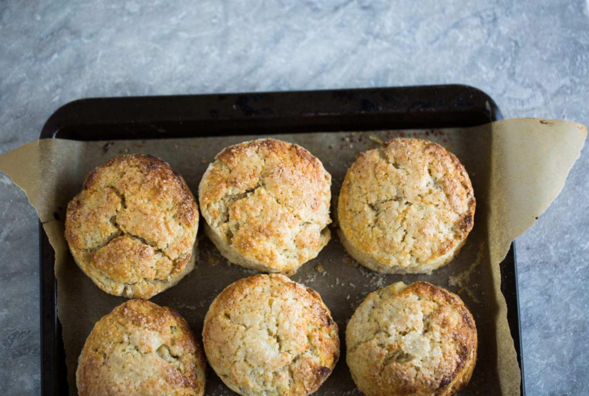 Barley & Rosemary Strawberry Shortcakes with Vanilla Bean Coconut Whipped Cream