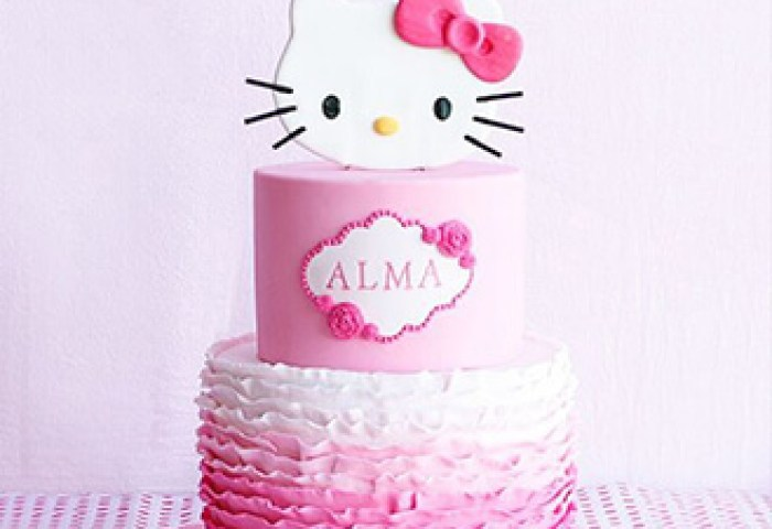 Floral Stack Hello Kitty Cake Theflowershopae 39242