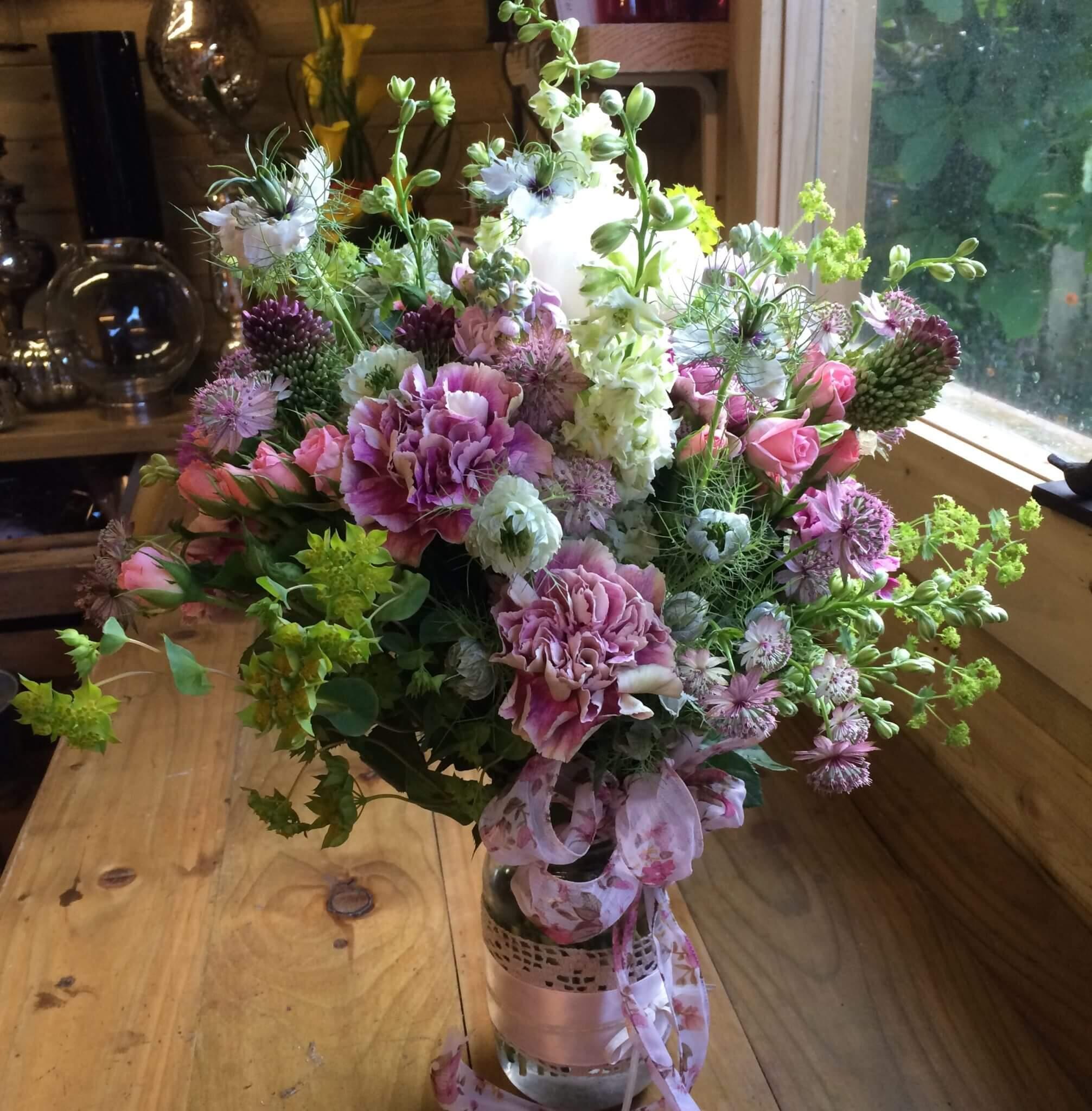 Country Meadow Bouquet The Flower Studio Belfast