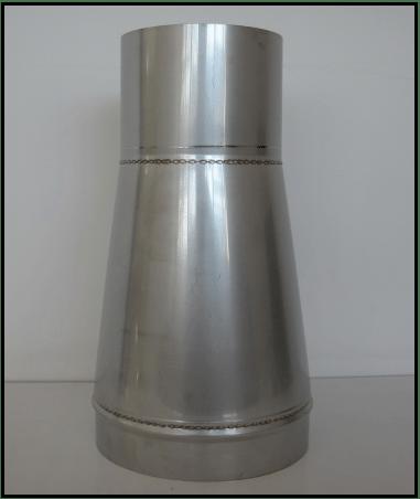 Flue deucer cone