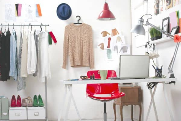 Home Office Organizing Tips. The Flying Couponer. Fashion blogger office.