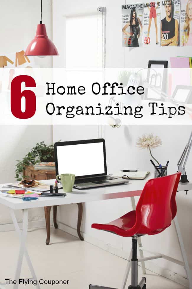 Home Office Organizing Tips. The Flying Couponer.