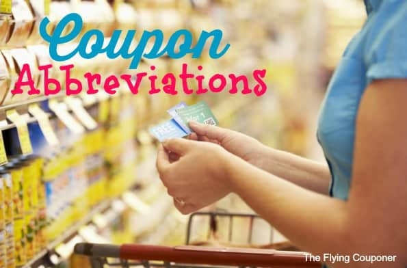 Coupon Abbreviation In Canada Saving Money Tips The Flying Couponer