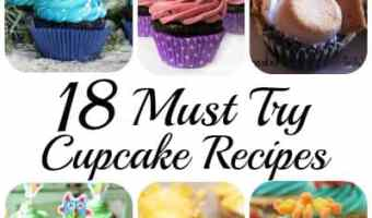 18 Must Try Cupcake Recipes