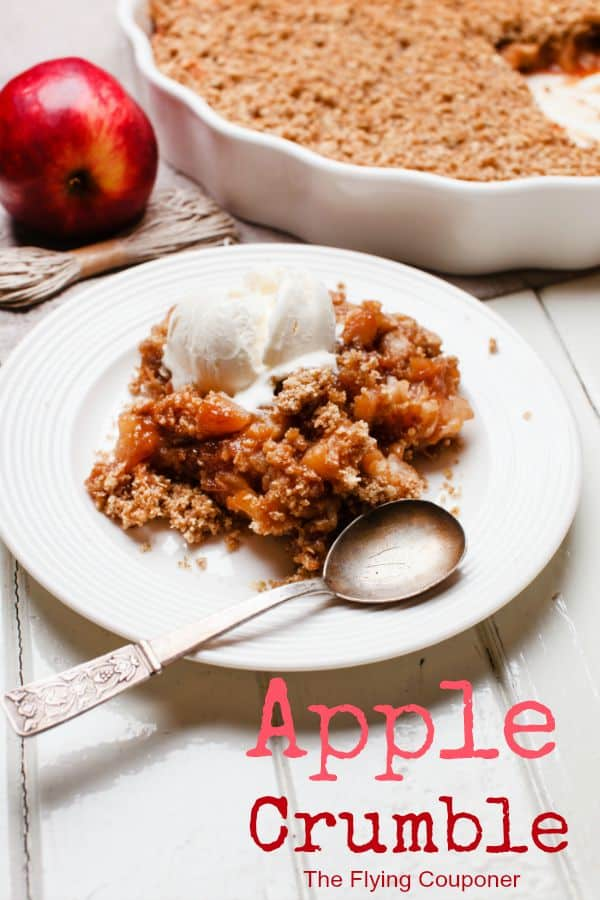 Apple Crumble. Fall Recipes. The Flying Couponer. Family. Travel. Saving Money.