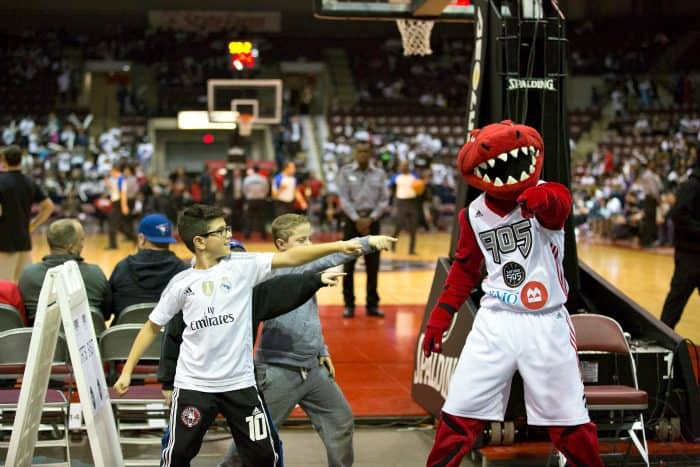 Raptors 905- New professional basketball team. Family fun.