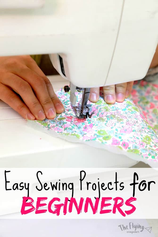 Easy sewing projects for beginners diy the flying couponer for Diy crafts for beginners