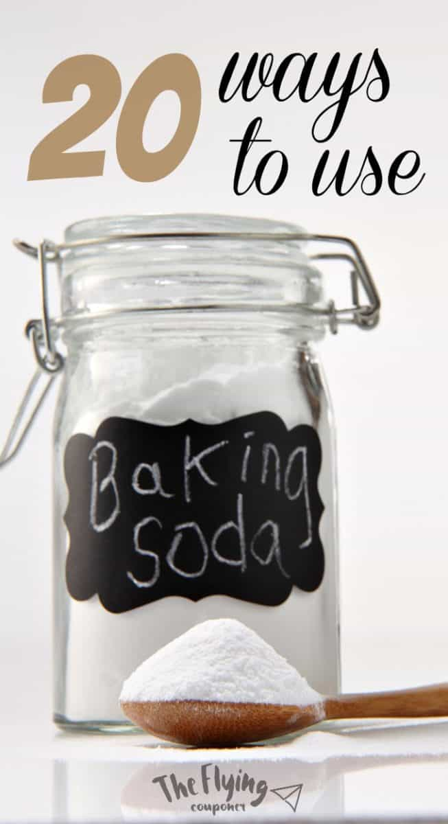 20 ways to use baking soda around the house the flying couponer - Baking soda the powder that works wonders at home ...