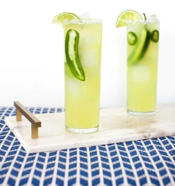 Spicy Sparkling Margarita