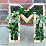DIY Monogram Succulent Planter