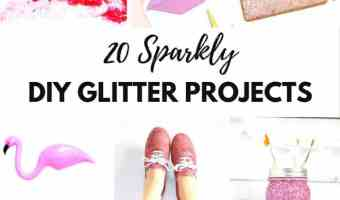 20 DIY Glitter Projects