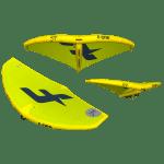 F-One Swing kite wing in Lime Slate