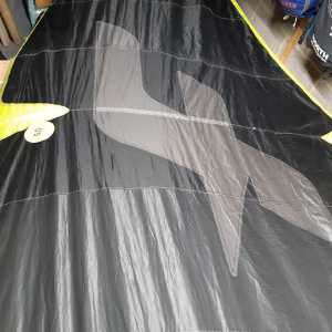 Repaired kite wing